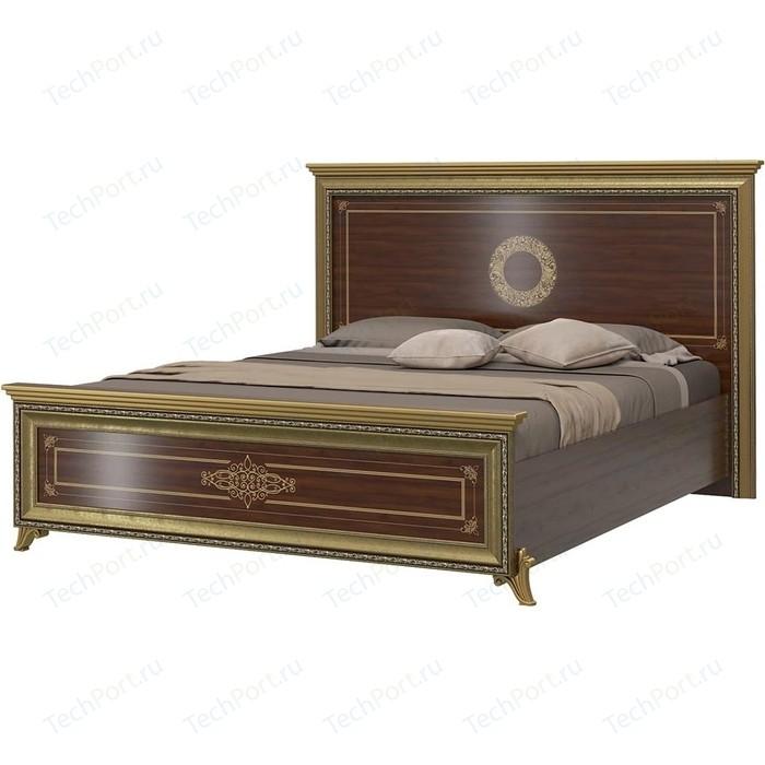 Кровать Мэри Версаль СВ-03Ш без короны № 3 орех тайский 160 кровать мэри версаль св 04ш без короны 3 цвет слоновая кость 180