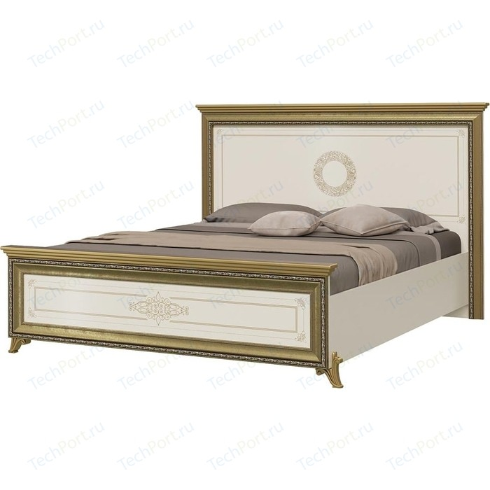 Кровать Мэри Версаль СВ-03Ш без короны № 3 слоновая кость 160 кровать мэри версаль св 04ш без короны 3 цвет слоновая кость 180