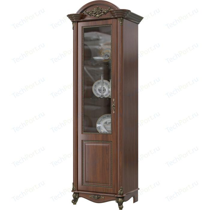 Шкаф 1-дверный левый Мэри Да Винчи ГД-01 орех