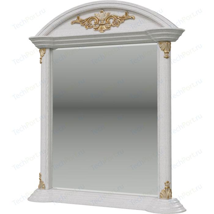 Зеркало Мэри Да Винчи СД-06 патина белый