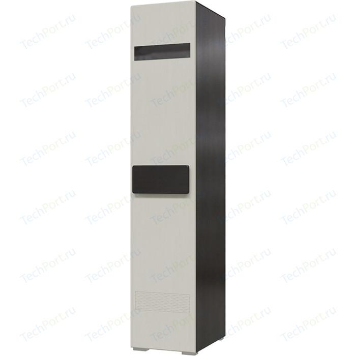 Шкаф 1-дверный универсальный Мэри Престиж СП-01 венге цаво/жемчужный лён