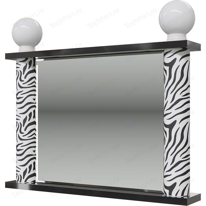 Зеркало Мэри Сан-Ремо СР-03 венге цаво/черный глянец