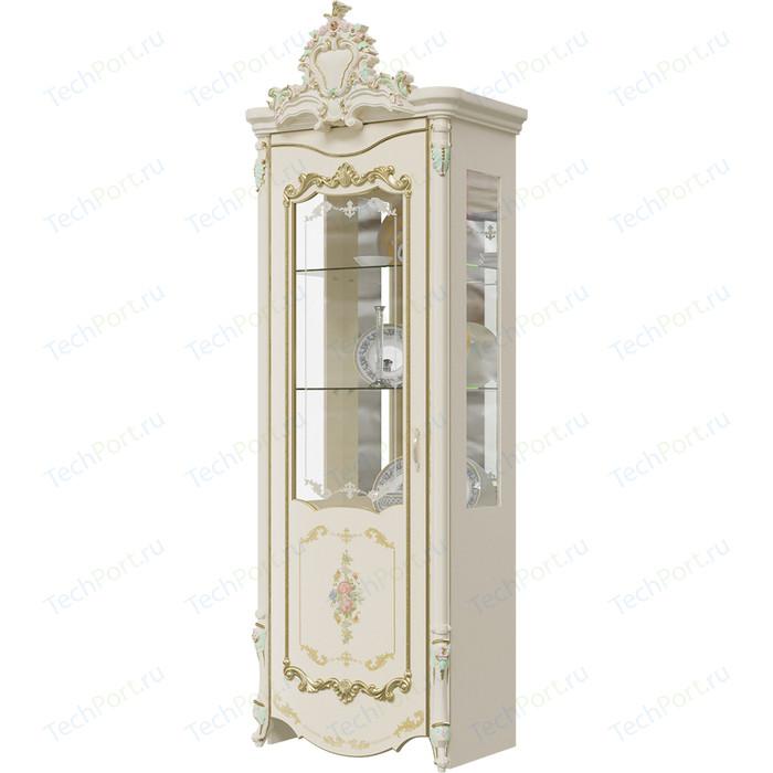 Шкаф 1-дверный левый Мэри Шейх ГШ-01 слоновая кость