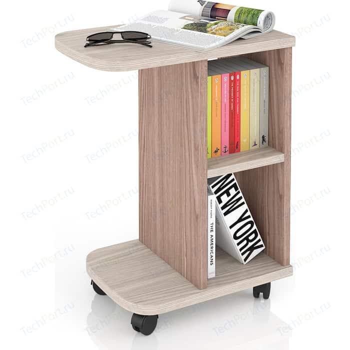 Стол журнальный Мебельный двор С-МД-СЖ-3 ясень шимо светлый/ясень шимо темный