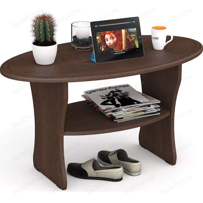 Фото - Стол журнальный Мебельный двор С-МД-СЖ-7 мокко стол журнальный мебельный двор с мд сж 11 итальянский орех на колесиках