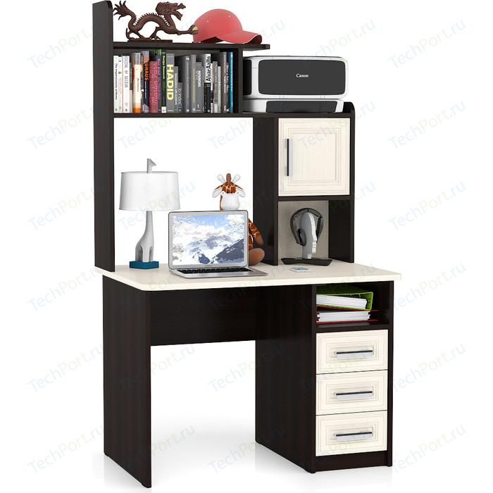 Стол компьютерный Мебельный двор С-МД-СК8 дуб/венге