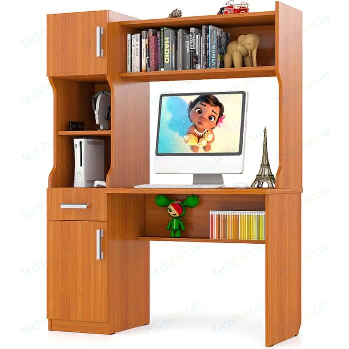 Стол письменный Мебельный двор С-МД-1-02 вишня