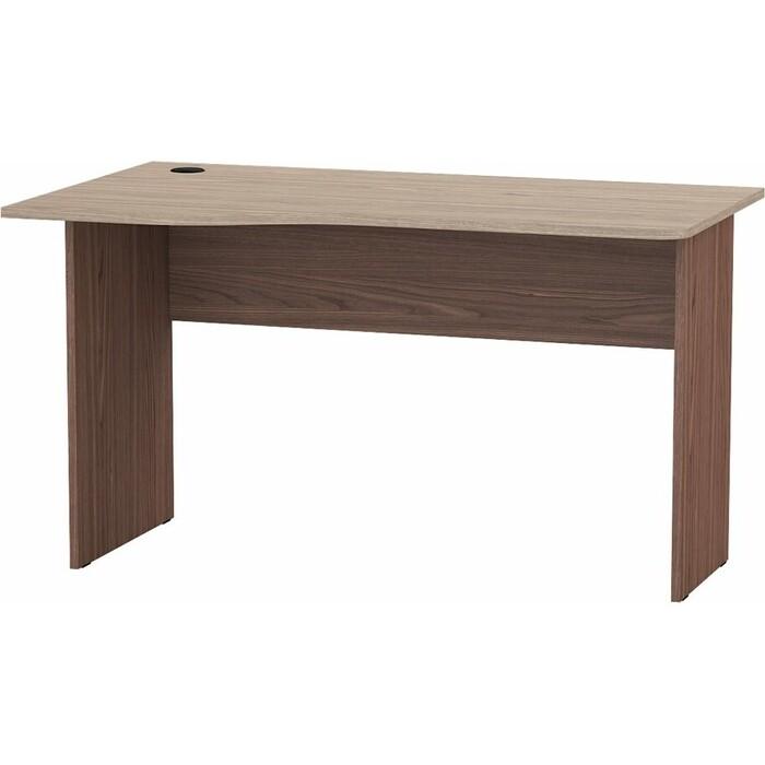 Стол письменный Мебельный двор С-МД-1-04 ясень шимо светлый/ясень темный