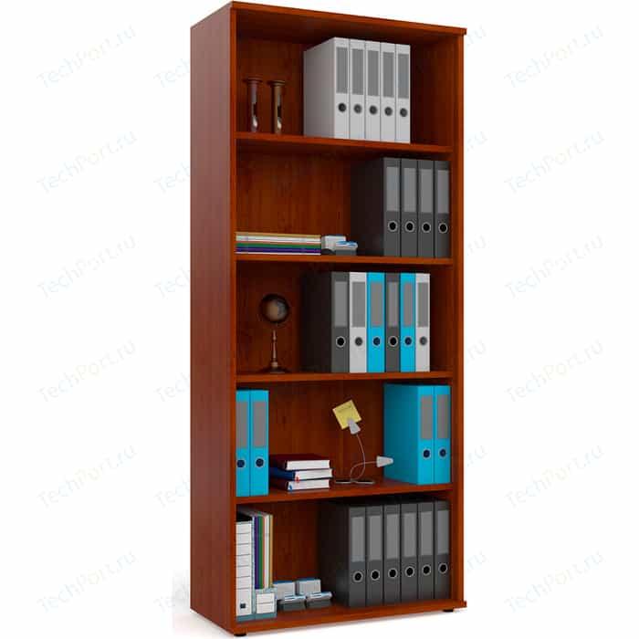 Шкаф для книг открытый Мебельный двор С-МД-2-01 вишня