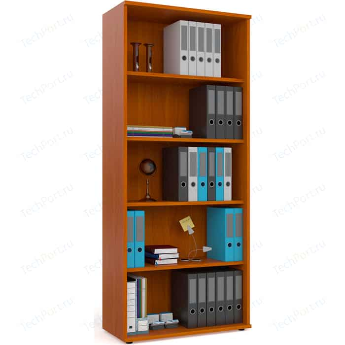 Шкаф для книг открытый Мебельный двор С-МД-2-01 яблоня