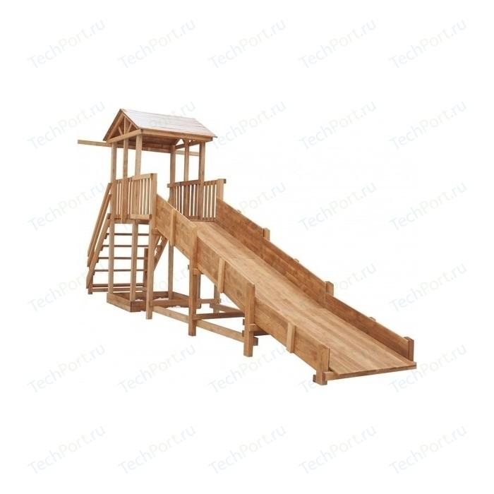 Детская площадка Красная звезда Спортивный городок с зимней горкой и широкой лестницей СГ-Р919-Р921