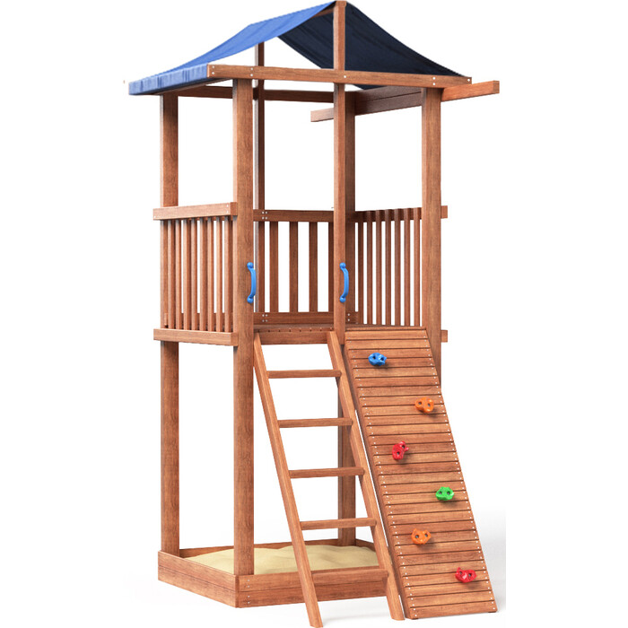Детская площадка Красная звезда Можга Спортивный городок 2 (крыша тент) СГ2-Тент