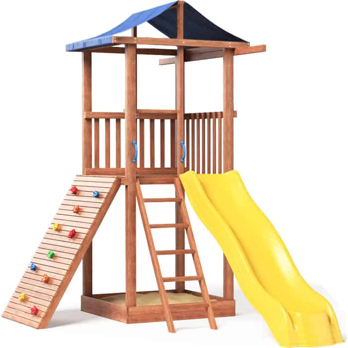 Детская площадка Красная звезда Можга Спортивный городок 5 (крыша тент) СГ5-тент