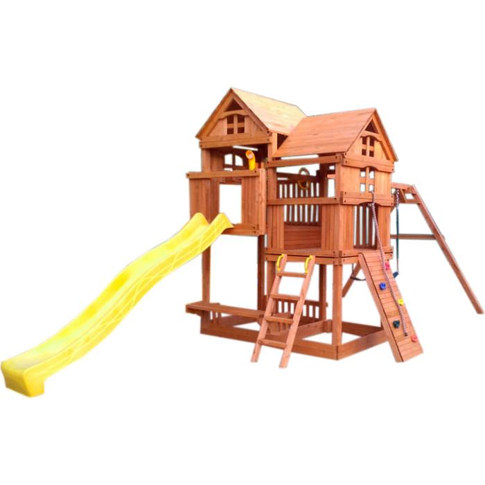 Детский игровой комплекс Красная звезда с горкой Р955 -1