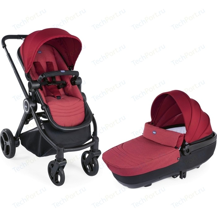 Коляска 2 в 1 Chicco Best Friend Crossover Red 100023 red 1