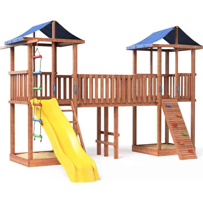 Детская площадка Красная звезда Можга Спортивный городок 7 (Крыша Тент) СГ7-Тент