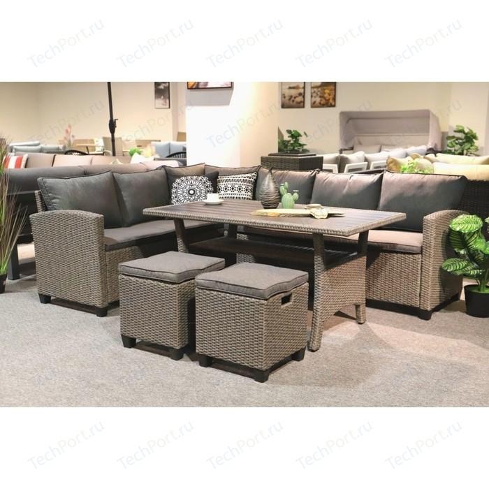 Комплект мебели с диваном Afina garden AFM-307B