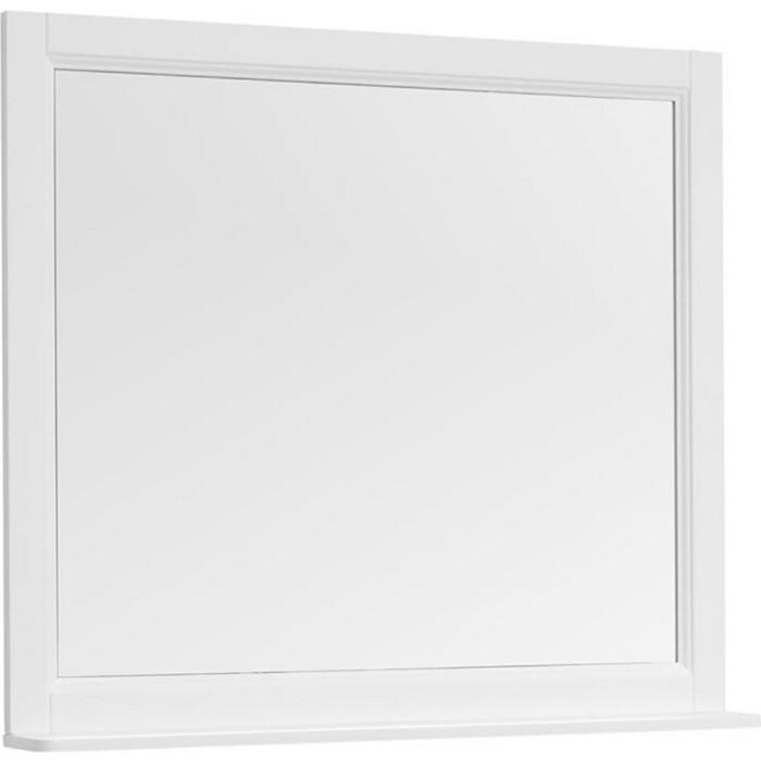 Зеркало с полкой Aquanet Бостон 100 белый (209674)
