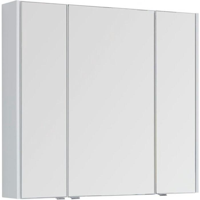 Зеркальный шкаф Aquanet Августа 100 белый (210005)