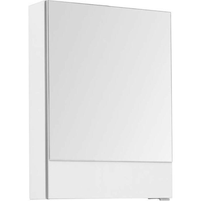 Зеркальный шкаф Aquanet Верона 50 белый (207763)