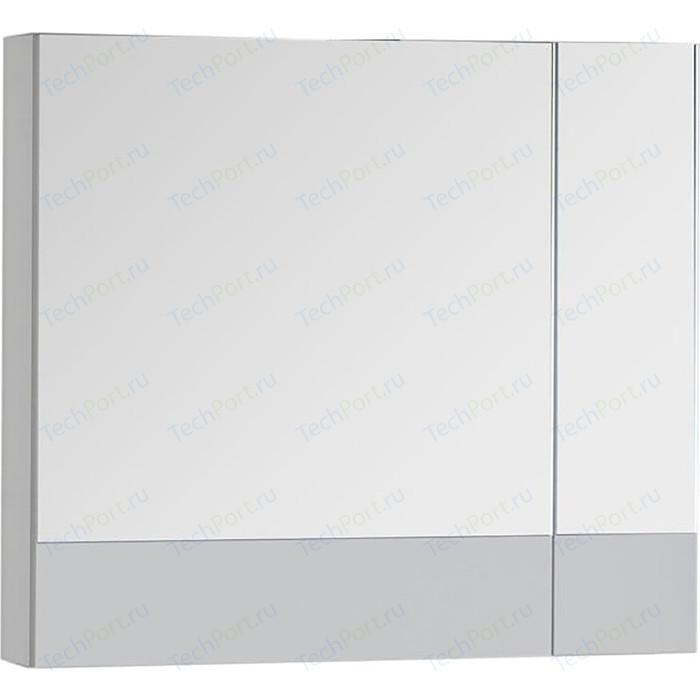 Зеркальный шкаф Aquanet Верона 70,5 белый (186371)