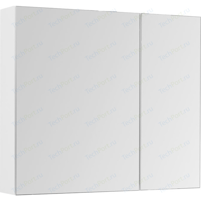 Зеркальный шкаф Aquanet Йорк 100 белый (202090)