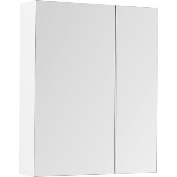 Зеркальный шкаф Aquanet Йорк 70 белый (202088)