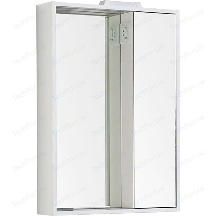 Зеркало-шкаф Aquanet Клио 60 белый (189228)