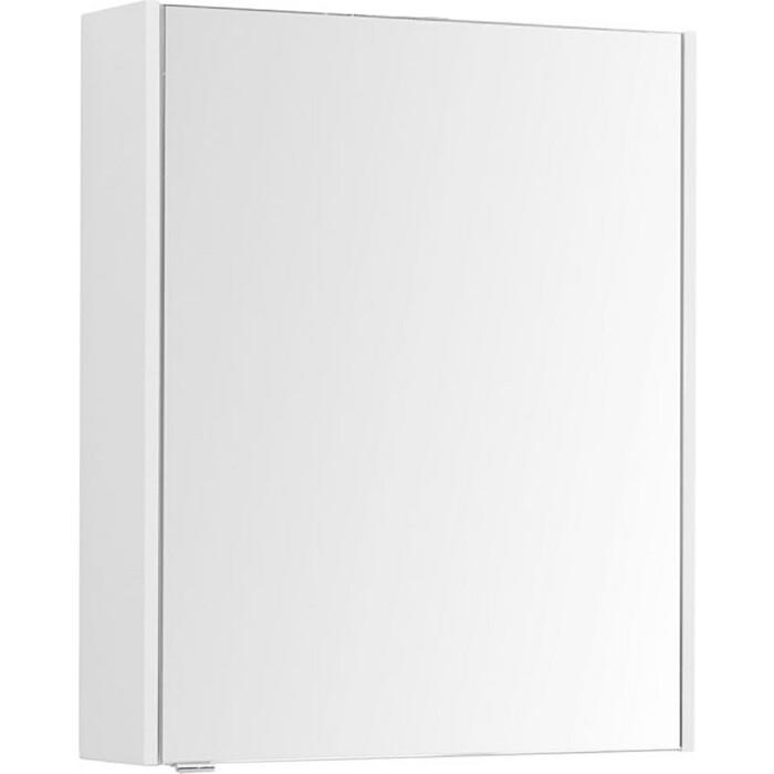 Зеркальный шкаф Aquanet Палермо 60 белый (203939)