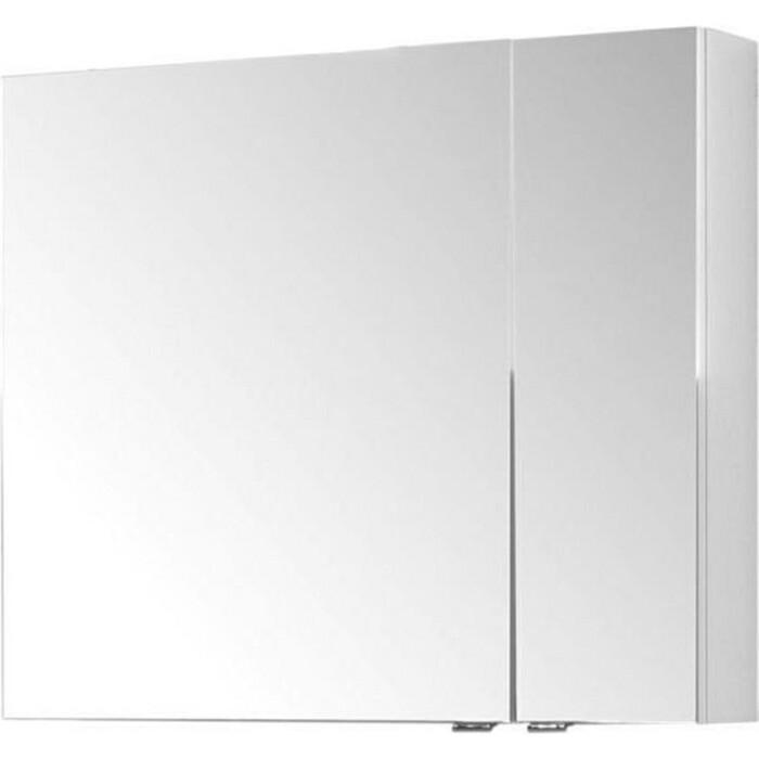 Зеркальный шкаф Aquanet Порто 80 белый (195728)