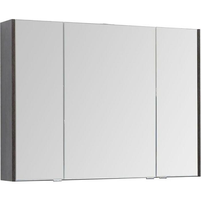 Зеркальный шкаф Aquanet Остин 105 дуб кантербери/белый (200911)