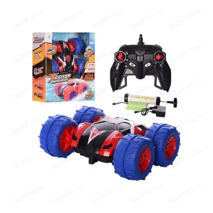 Радиоуправляемая машина CS Toys Перевертыш с пневмо колесами - A01