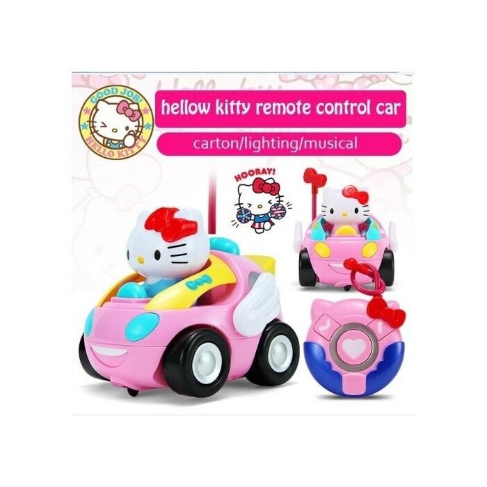 Радиоуправляемая машина Robocar Poli Hello Kitty - C110-508A-1