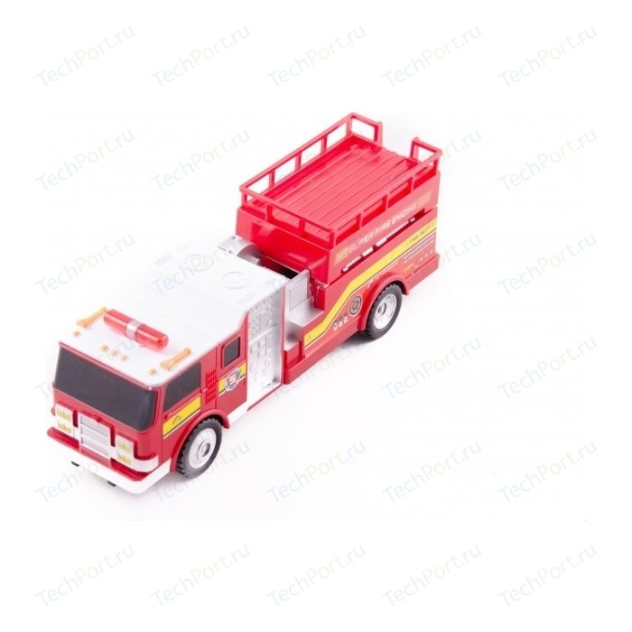 Радиоуправляемая пожарная машина Rui Feng Hero World Super с подъемной площадкой