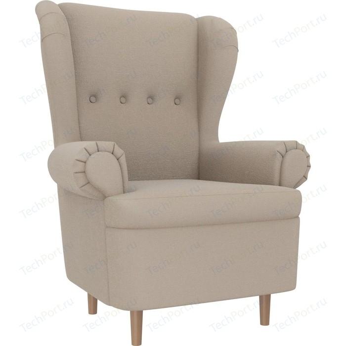 Кресло АртМебель Торин рогожка бежевый