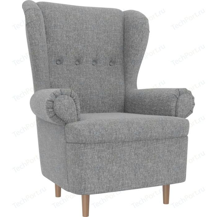 Кресло АртМебель Торин рогожка серый