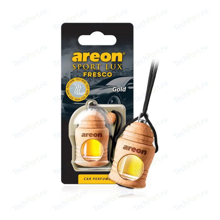 Ароматизатор автомобильный Areon FRESCO Золото Gold
