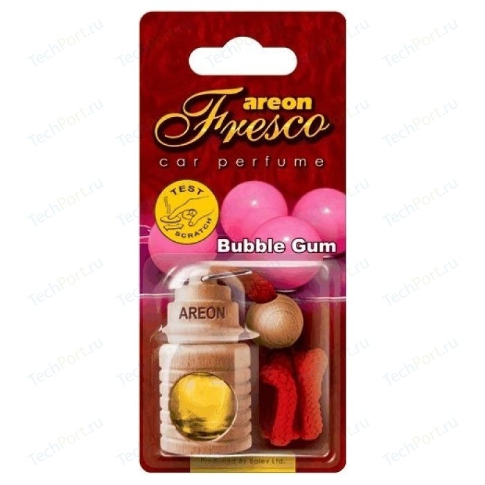 Ароматизатор автомобильный Areon FRESCO Бабл гам Bubble Gum