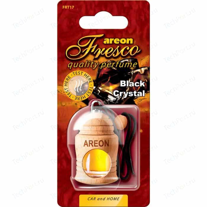Ароматизатор автомобильный Areon FRESCO Черный кристал Black Crystal