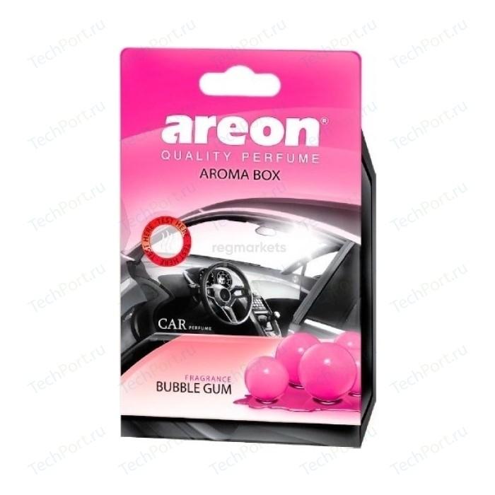 Ароматизатор автомобильный Areon AROMA BOX Бабл гам Bubble Gum