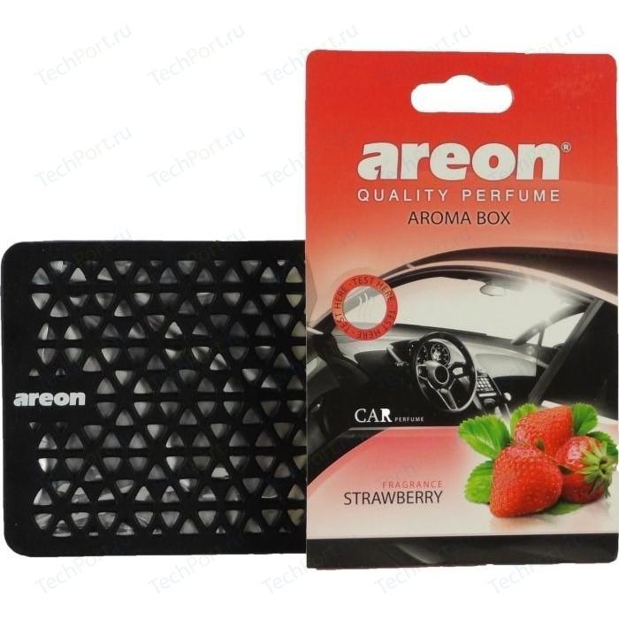 Ароматизатор автомобильный Areon AROMA BOX Клубника Strawberry