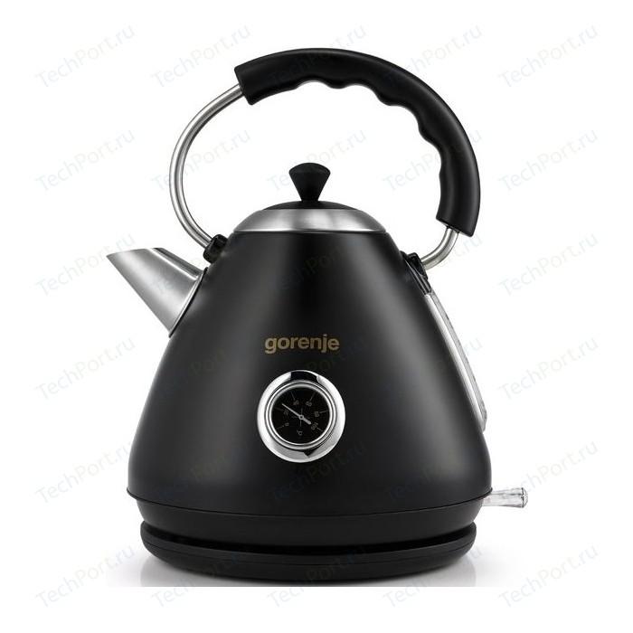 Чайник электрический Gorenje K17CLBK чайник gorenje k17fe серебристый