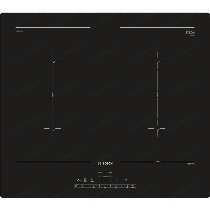 Индукционная варочная панель Bosch Serie 6 PVQ611FC5E