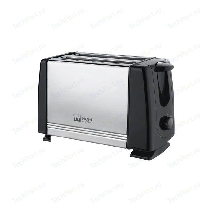 Тостер Home Element HE-TS500 черный жемчуг миксер home element he kp800 серый агат