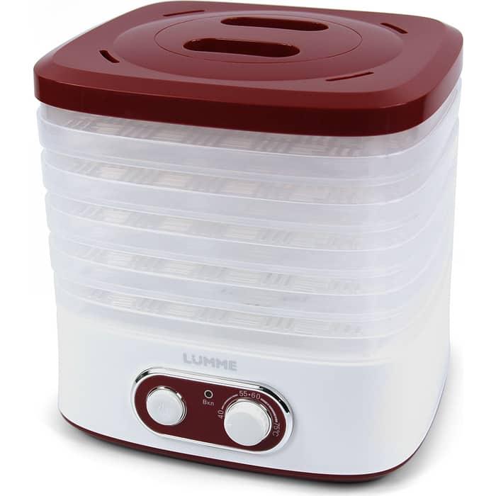 Сушилка для овощей Lumme LU-1853 красный рубин