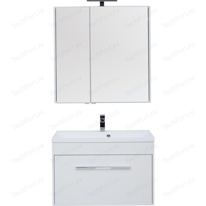 Мебель для ванной Aquanet Августа 90 белый