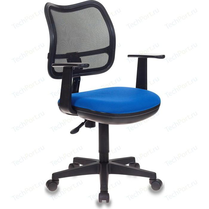 Кресло Бюрократ CH-797AXSN/26-21 черный-синий