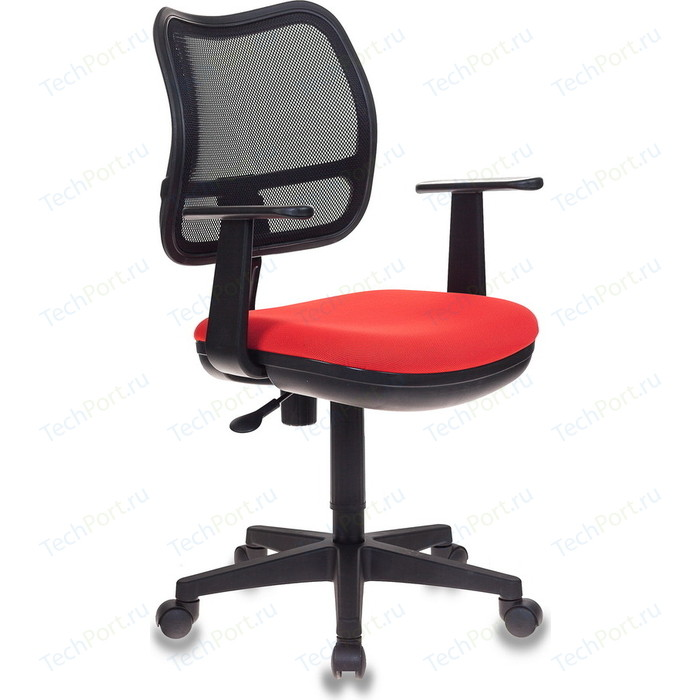 Кресло Бюрократ CH-797AXSN/26-22 черный-красный