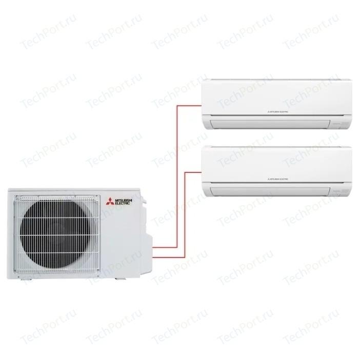 Мульти сплит-система Mitsubishi Electric MSZ-HJ25VA ER +MSZ-HJ35VA ER/MXZ-2HJ40VA