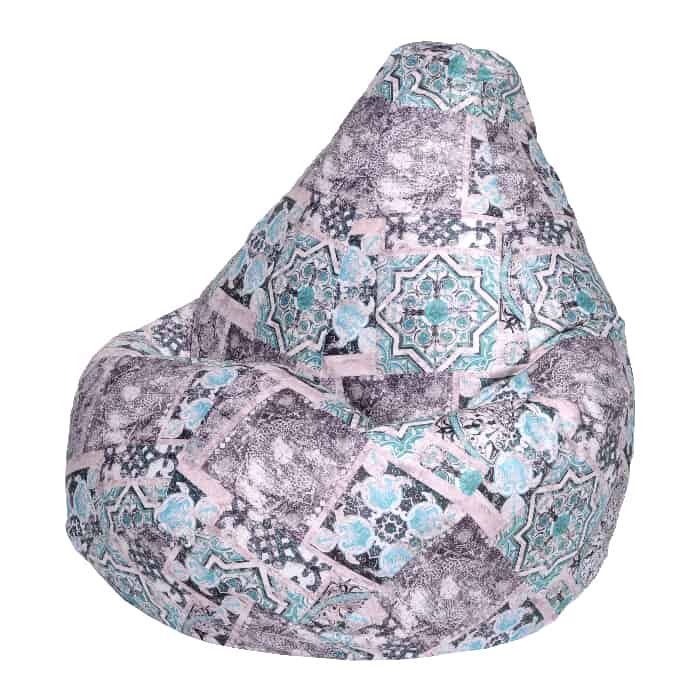 Кресло-мешок DreamBag Сиена мята XL 125x85